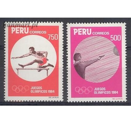 Peru 1984 Mi 1268-1269 Czyste **