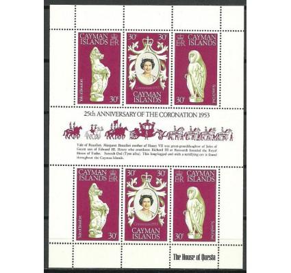 Kajmany 1978 Mi ark 409-411 Czyste **