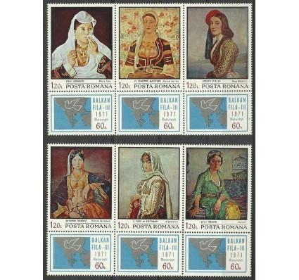 Znaczek Rumunia 1971 Mi zf 2931-2936 Czyste **