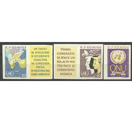 Znaczek Rumunia 1961 Mi zf 2037-2039B Czyste **