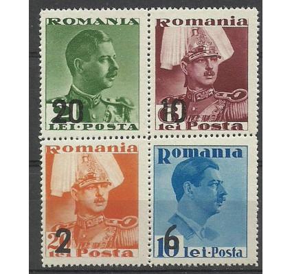 Znaczek Rumunia 1937 Mi 543-546 Czyste **