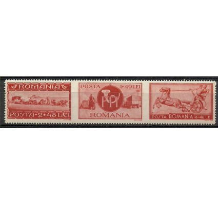 Znaczek Rumunia 1944 Mi 824-826 Czyste **