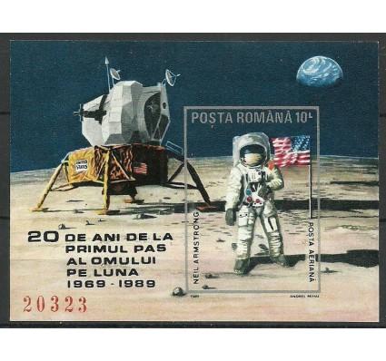 Znaczek Rumunia 1989 Mi bl 257 Czyste **