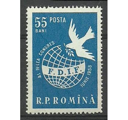 Znaczek Rumunia 1958 Mi 1708 Czyste **