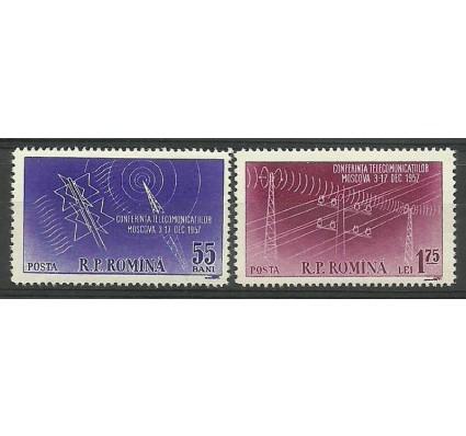 Znaczek Rumunia 1958 Mi 1699-1700 Czyste **
