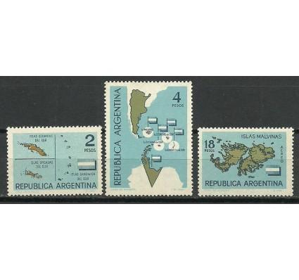 Znaczek Argentyna 1964 Mi 834-836 Czyste **