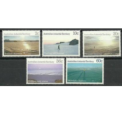 Znaczek Australijskie Terytorium Antarktyczne 1987 Mi 74-78 Czyste **
