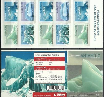 Znaczek Australijskie Terytorium Antarktyczne 2011 Mi mh 187-190 Czyste **