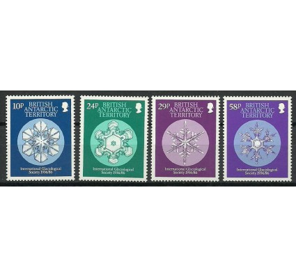 Znaczek Brytyjskie Terytorium Antarktyczne 1986 Mi 136-139 Czyste **
