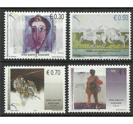 Znaczek Kosowo 2009 Mi 143-146 Czyste **