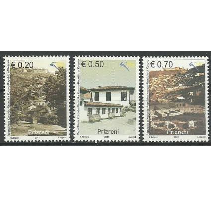 Znaczek Kosowo 2011 Mi 187-189 Czyste **