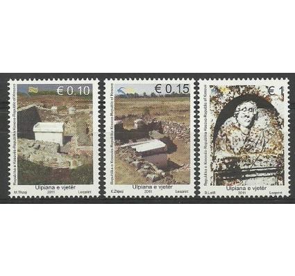 Znaczek Kosowo 2011 Mi 193-195 Czyste **