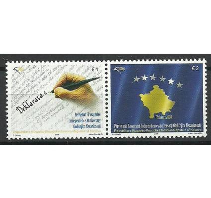 Znaczek Kosowo 2009 Mi 125-126 Czyste **