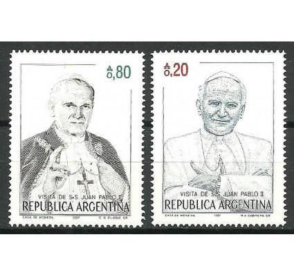 Znaczek Argentyna 1987 Mi 1856-1857 Czyste **