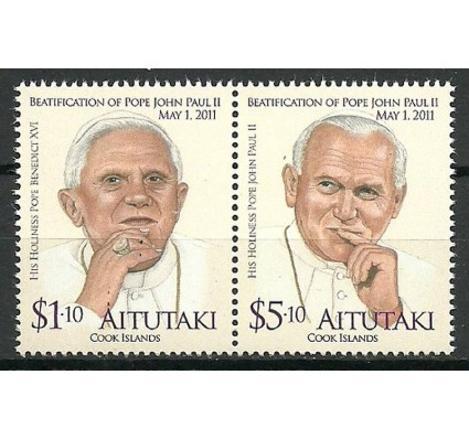 Znaczek Aitutaki 2011 Mi 834-835 Czyste **