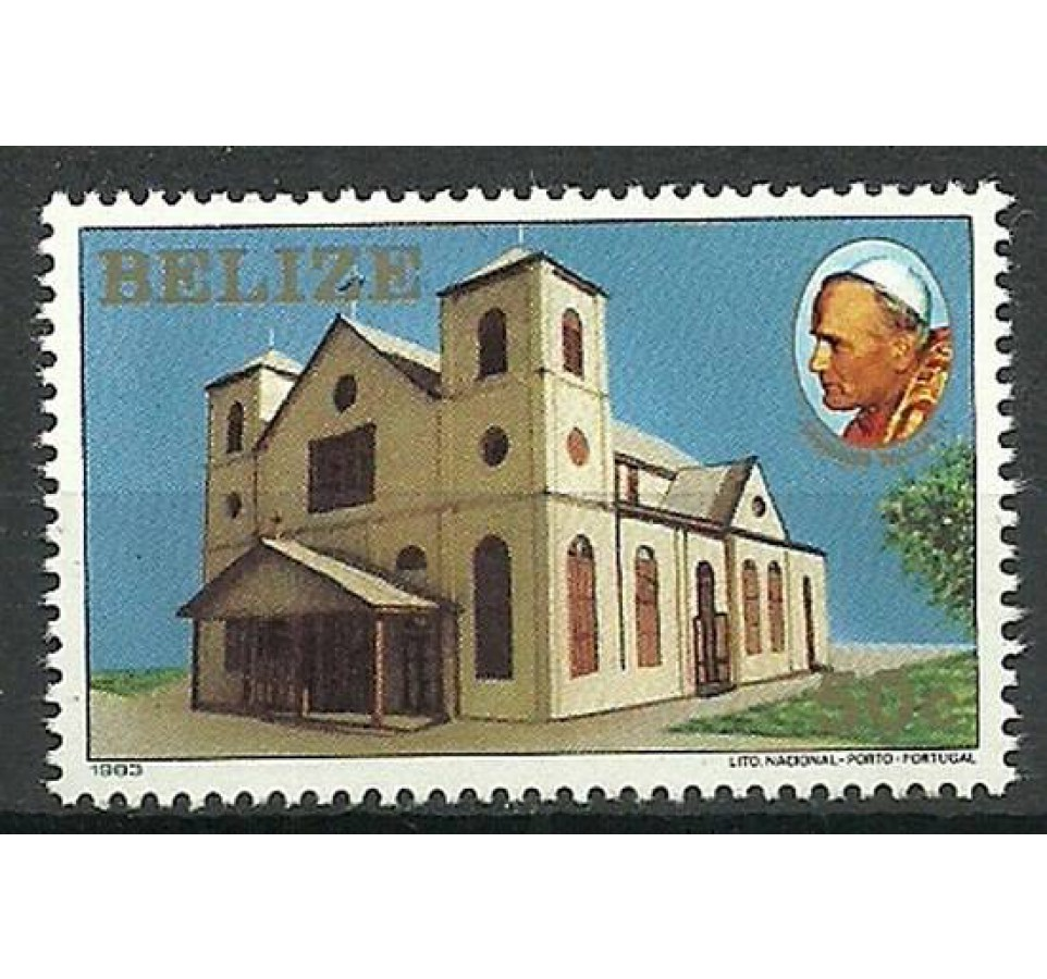 Belize 1983 Mi 696 Czyste **