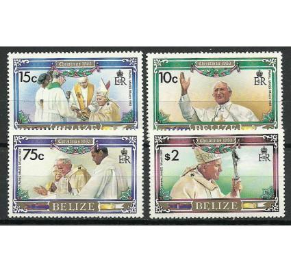 Znaczek Belize 1983 Mi 724-727 Czyste **