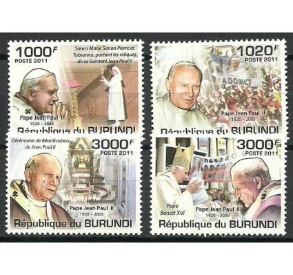Znaczek Burundi 2011 Mi 2146-2149 Czyste **