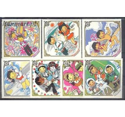 Znaczek Mongolia 1983 Mi 1584-1590 Czyste **