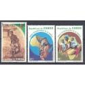 Kongo 1994 Mi 1431-1433 Czyste **