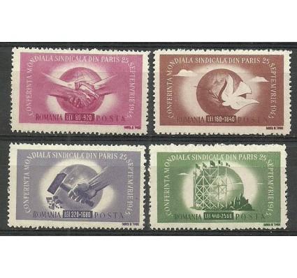 Znaczek Rumunia 1945 Mi 917-920 Czyste **
