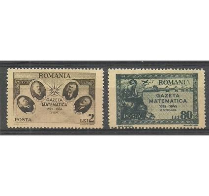 Znaczek Rumunia 1945 Mi 900-901 Czyste **
