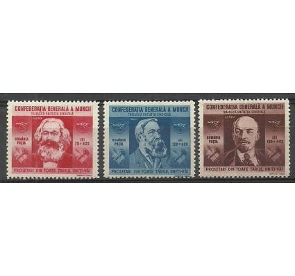 Znaczek Rumunia 1945 Mi 861-863 Czyste **
