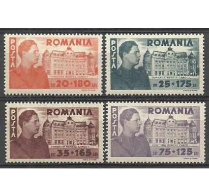 Znaczek Rumunia 1944 Mi 831-834 Czyste **