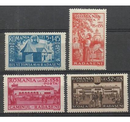 Znaczek Rumunia 1944 Mi 793-796 Czyste **