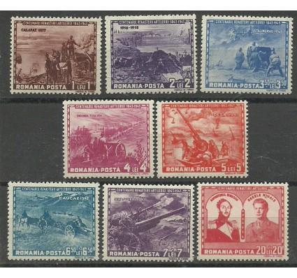 Znaczek Rumunia 1943 Mi 782-789 Czyste **