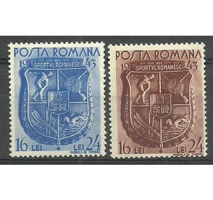 Znaczek Rumunia 1943 Mi 775-776 Czyste **