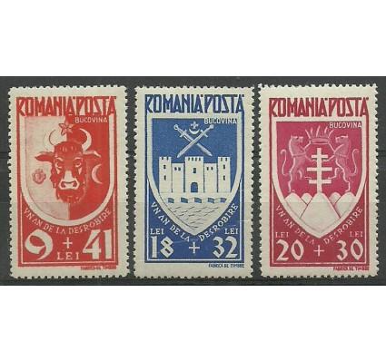 Znaczek Rumunia 1942 Mi 746-748 Czyste **