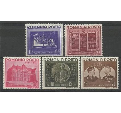 Znaczek Rumunia 1941 Mi 686-690 Czyste **