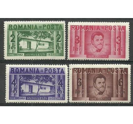 Znaczek Rumunia 1937 Mi 524-527 Czyste **