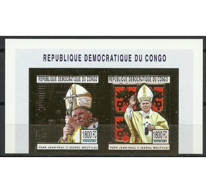 Znaczek Kongo Kinszasa / Zair 2004 Mi 1801-1802B Czyste **