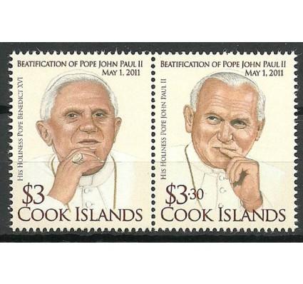 Znaczek Wyspy Cooka 2011 Mi 1722-1723 Czyste **
