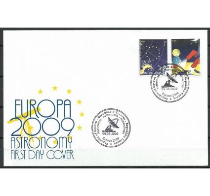 Znaczek Kosowo 2009 Mi 132-133 FDC