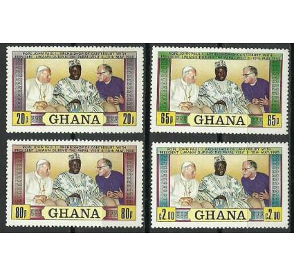 Znaczek Ghana 1980 Mi 880-883 Czyste **