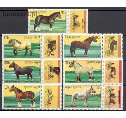 Kambodża 1989 Mi zf 1055-1061 Czyste **