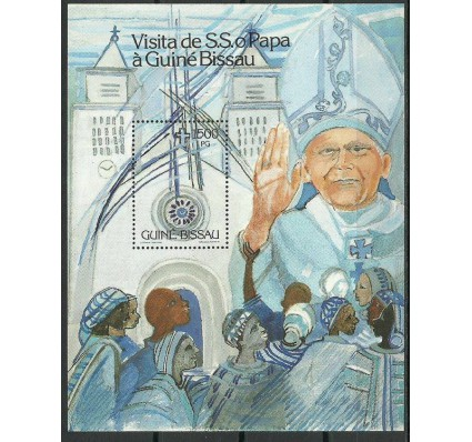 Znaczek Gwinea Bissau 1990 Mi bl 283 Czyste **