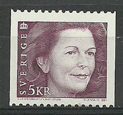 Znaczek Szwecja 1991 Mi 1661 Czyste **