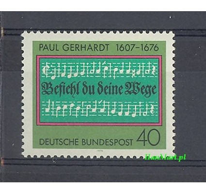 Niemcy 1976 Mi 893 Czyste **