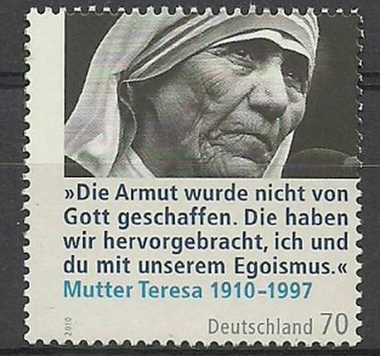 Znaczek Niemcy 2010 Mi 2813 Czyste **