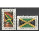 Jamajka 1987 Mi 675-676 Czyste **
