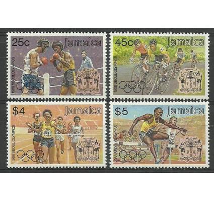 Znaczek Jamajka 1988 Mi 702-705 Czyste **