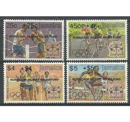Znaczek Jamajka 1988 Mi 710-713II Czyste **