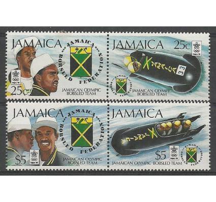 Znaczek Jamajka 1988 Mi 706-709 Czyste **