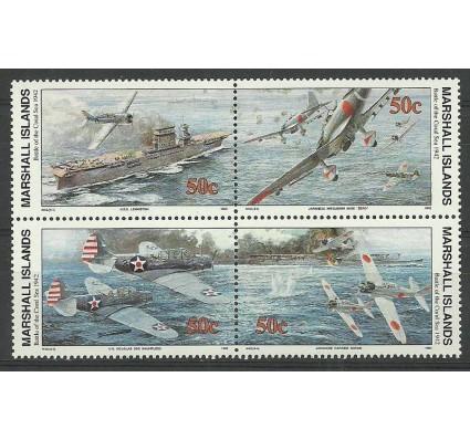 Znaczek Wyspy Marshalla 1992 Mi 415-418I Czyste **