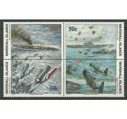 Znaczek Wyspy Marshalla 1992 Mi 426-429 Czyste **