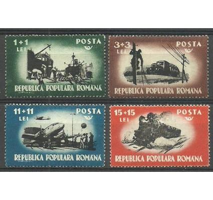 Znaczek Rumunia 1948 Mi 1165-1168 Czyste **